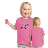 Toddler Fuchsia T Shirt-PC-6 Illustration