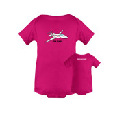 Fuchsia Infant Onesie-PC-24 Fly Baby