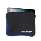 Neoprene Black w/Royal Trim Zippered Tablet Sleeve-