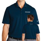 Nike Golf Dri Fit Navy Micro Pique Polo-Pilatus