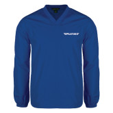 V Neck Royal Raglan Windshirt-Pilatus