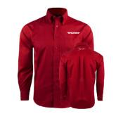 Red House Red Long Sleeve Shirt-Pilatus