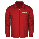 Full Zip Red Wind Jacket-Pilatus
