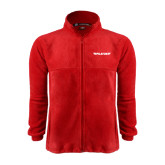 Fleece Full Zip Red Jacket-Pilatus