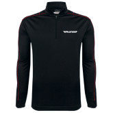 Nike Golf Dri Fit 1/2 Zip Black/Red Pullover-Pilatus