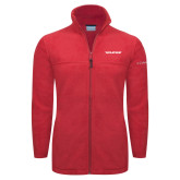 Columbia Full Zip Red Fleece Jacket-Pilatus