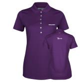 Ladies Callaway Opti Vent Purple Polo-Pilatus
