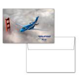 6 1/4 x 4 5/8 Flat Cards w/Blank Envelopes 10/pkg-PC-24 Clouded Bridge