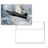 6 1/4 x 4 5/8 Flat Cards w/Blank Envelopes 10/pkg-PC-9 M Over Mtn Terrain