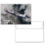 6 1/4 x 4 5/8 Flat Cards w/Blank Envelopes 10/pkg-PC-12 NG 1000