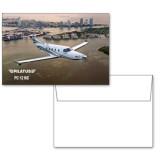 6 1/4 x 4 5/8 Flat Cards w/Blank Envelopes 10/pkg-PC-12 NG City Lake View