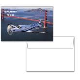 6 1/4 x 4 5/8 Flat Cards w/Blank Envelopes 10/pkg-PC-12 NG Bridge View