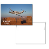 6 1/4 x 4 5/8 Flat Cards w/Blank Envelopes 10/pkg-PC-12 NG Over Block Mtns
