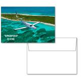 6 1/4 x 4 5/8 Flat Cards w/Blank Envelopes 10/pkg-PC-12 NG Island Shore