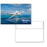 6 1/4 x 4 5/8 Flat Cards w/Blank Envelopes 10/pkg-PC-12 NG Ocean View