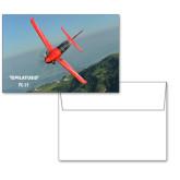 6 1/4 x 4 5/8 Flat Cards w/Blank Envelopes 10/pkg-PC-21 Mountain Shore