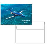 6 1/4 x 4 5/8 Flat Cards w/Blank Envelopes 10/pkg-PC-24 Ocean View