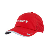Nike Dri Fit Red Perforated Hat-