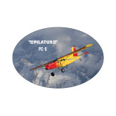 Small Magnet-PC-6 Over Snowy Mountains