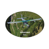 Small Magnet-PC-6 Over Green Terrain