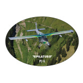 Large Magnet-PC-6 Over Green Terrain