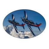 Large Magnet-PC-7 MKIIs over Snow Cliffs