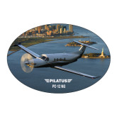 Large Magnet-PC-12 NG New York View