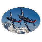 Extra Large Magnet-PC-7 MKIIs over Snow Cliffs