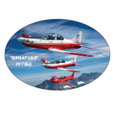 Extra Large Magnet-PC-7 MKII 3 Aircrafts