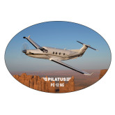 Extra Large Magnet-PC-12 NG Over Block Mtns