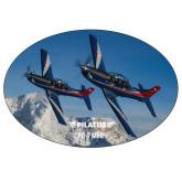 Super Large Magnet-PC-7 MKIIs over Snow Cliffs