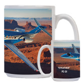 Full Color White Mug 15oz-PC-24 Rough Block Mtns