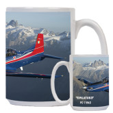 Full Color White Mug 15oz-PC-7 MKII Rocky Terrain