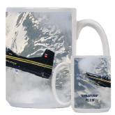 Full Color White Mug 15oz-PC-9 M Over Mtn Terrain