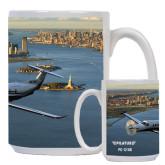 Full Color White Mug 15oz-PC-12 NG New York View
