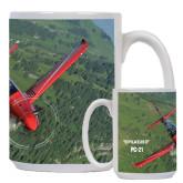 Full Color White Mug 15oz-PC-21 Green Terrain