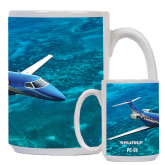 Full Color White Mug 15oz-PC-24 Ocean View