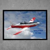 Full Color Indoor Floor Mat-PC-7 MKII Over Clouds