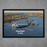 Full Color Indoor Floor Mat-PC-12 NG New York View