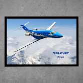 Full Color Indoor Floor Mat-PC-24 Over Snowy Mtns