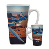Full Color Latte Mug 17oz-PC-24 Rough Block Mtns