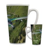Full Color Latte Mug 17oz-PC-6 Over Green Terrain