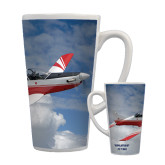 Full Color Latte Mug 17oz-PC-7 MKII Over Clouds