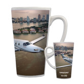 Full Color Latte Mug 17oz-PC-12 NG City Lake View
