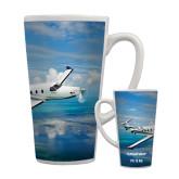 Full Color Latte Mug 17oz-PC-12 NG Ocean View