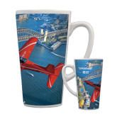 Full Color Latte Mug 17oz-PC-21 City Bridge View