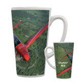 Full Color Latte Mug 17oz-PC-21 Green Terrain