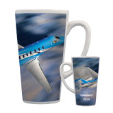 Full Color Latte Mug 17oz-PC-24 On Top of Clouds