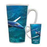 Full Color Latte Mug 17oz-PC-24 Ocean View