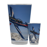 Full Color Glass 17oz-PC-7 MKIIs over Snow Cliffs